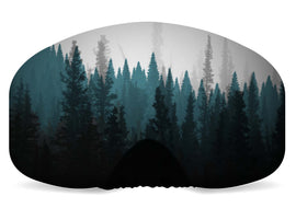 BlackStrap Goggle Cover Tree Line