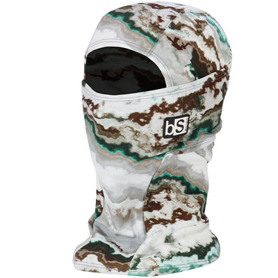 BlackStrap The Hood Balaclava Acid Wash Green USA Made Facemask