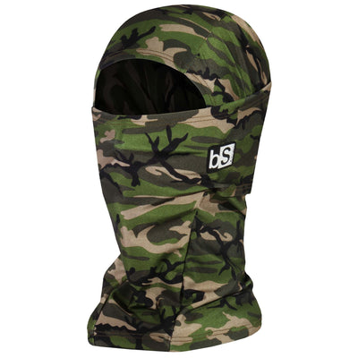 BlackStrap The Hood Balaclava Camo Army Olive USA Made Facemask