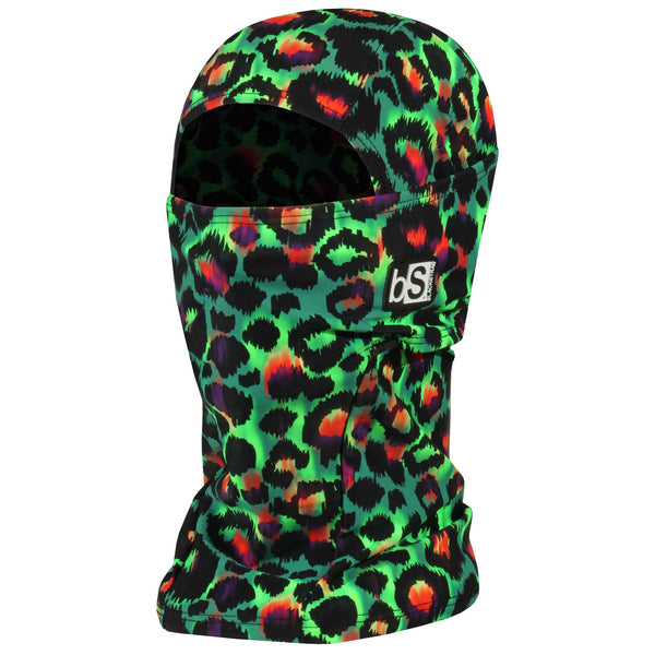 BlackStrap The Hood Balaclava Cheetah Green USA Made Facemask