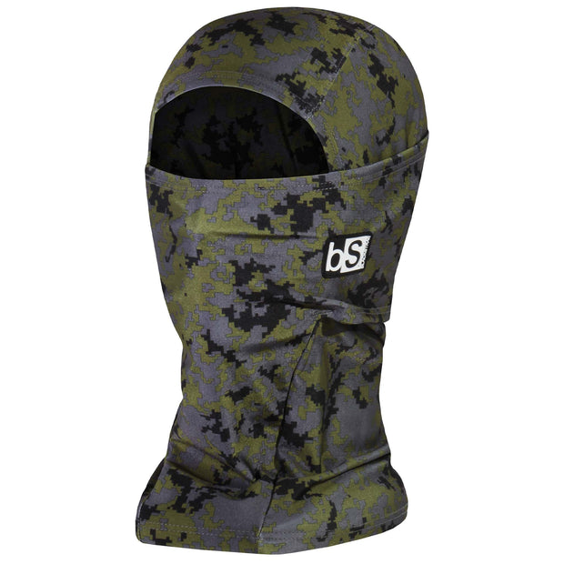 BlackStrap The Hood Balaclava Camo Digital Forest USA Made Facemask