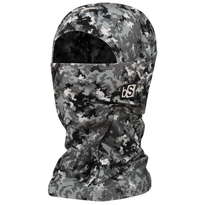 BlackStrap The Hood Balaclava Camo Digital Snow USA Made Facemask