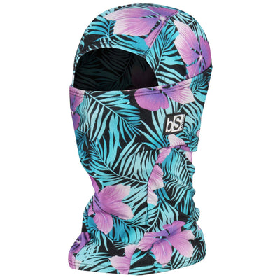 BlackStrap The Hood Balaclava Floral Palms USA Made Facemask