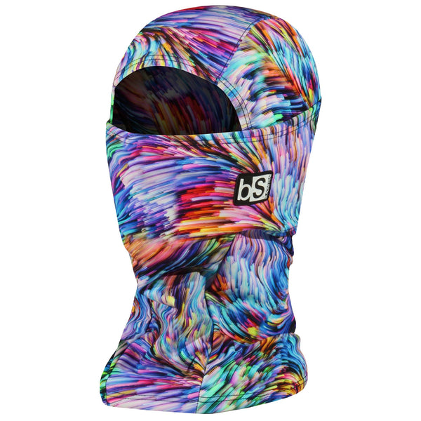 BlackStrap The Hood Balaclava Feather Digital Bright USA Made Facemask