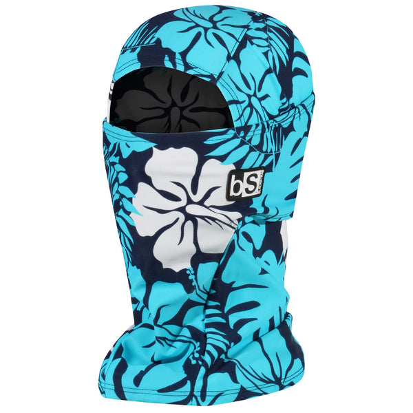 BlackStrap The Hood Balaclava Floral Aloha Blue USA Made Facemask
