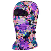 BlackStrap The Hood Balaclava Glitched Purple USA Made Facemask
