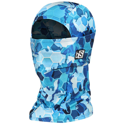 BlackStrap The Hood Balaclava Hex Camo Blue USA Made Facemask