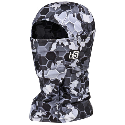 BlackStrap The Hood Balaclava Hex Camo Gray USA Made Facemask