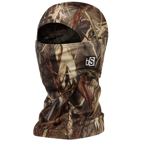 BlackStrap The Hood Balaclava Camo Marsh Grass USA Made Facemask