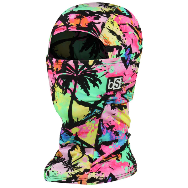 BlackStrap The Hood Balaclava Neon Palms USA Made Facemask