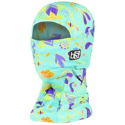 BlackStrap The Hood Balaclava Paisley Comic Mint USA Made Facemask