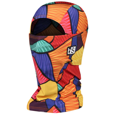 BlackStrap The Hood Balaclava Patchwork Triangles USA Made Facemask