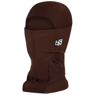 BlackStrap The Hood Balaclava Solid Chocolate Brown USA Made Facemask