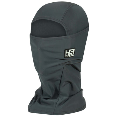 BlackStrap The Hood Balaclava Solid Graphite USA Made Facemask