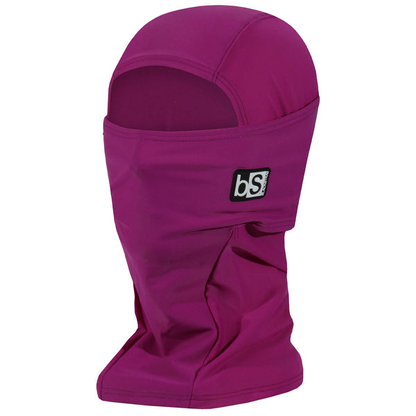 BlackStrap The Hood Balaclava Solid Hibiscus USA Made Facemask