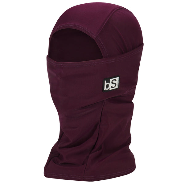 BlackStrap The Hood Balaclava Solid Merlot USA Made Facemask