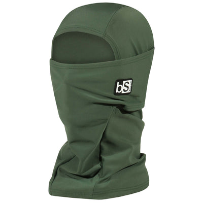 BlackStrap The Hood Balaclava Solid Olive USA Made Facemask