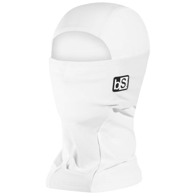 BlackStrap The Hood Balaclava Solid White USA Made Facemask