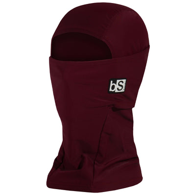 BlackStrap The Hood Balaclava Solid Wine USA Made Facemask