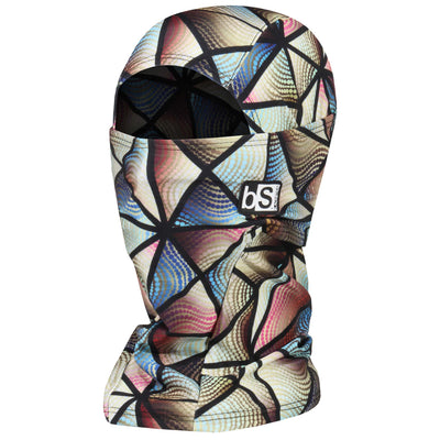 BlackStrap The Hood Balaclava Stained Glass Pastel USA Made Facemask