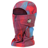 BlackStrap The Hood Balaclava Swirls Red and Blue USA Made Facemask