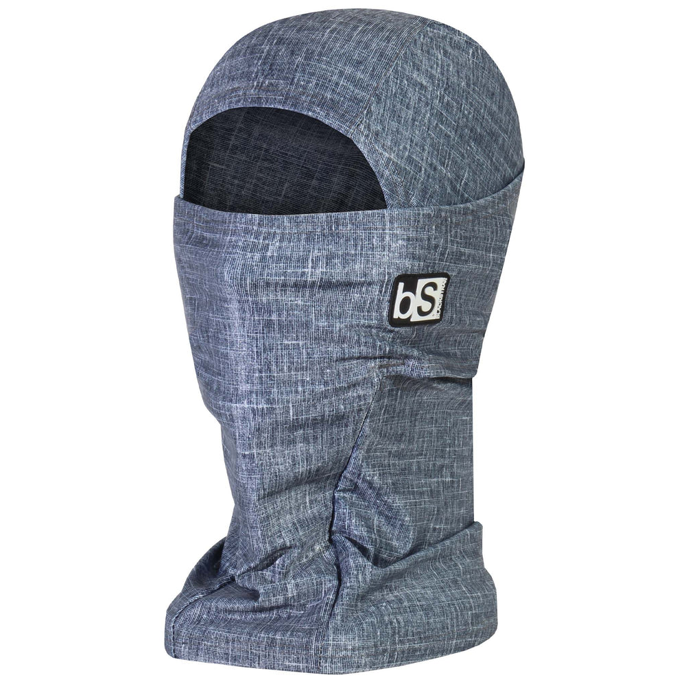 BlackStrap The Hood Balaclava Tweed Navy USA Made Facemask