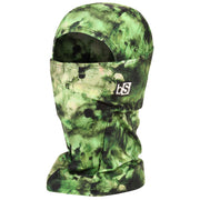BlackStrap The Hood Balaclava Tie Dye Green USA Made Facemask