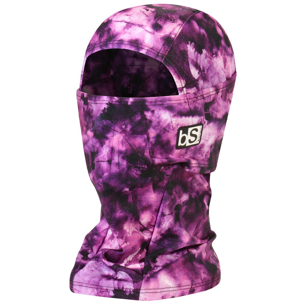 BlackStrap The Hood Balaclava Tie Dye Orchid USA Made Facemask