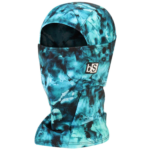 BlackStrap The Hood Balaclava Tie Dye Teal USA Made Facemask