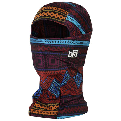 BlackStrap The Hood Balaclava Tribe Burgundy USA Made Facemask