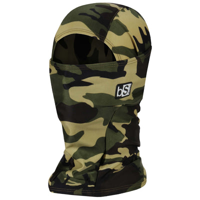 BlackStrap The Hood Balaclava Camo Canvas Drab USA Made Facemask