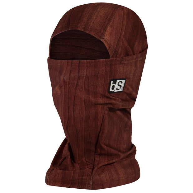 BlackStrap The Hood Balaclava Woodgrain Dark USA Made Facemask