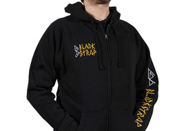 BlackStrap Zip Hoodie D.I.Y Black Men's