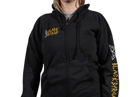BlackStrap Zip Hoodie D.I.Y Black Women's