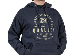 BlackStrap Hoodie Quality Navy Men's