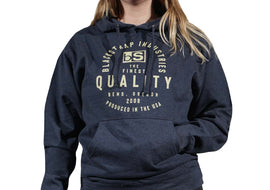 BlackStrap Hoodie Quality Navy Women's