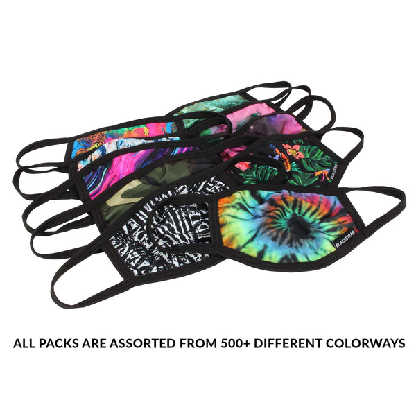 Kids Civil Mask | Assorted Color Packs