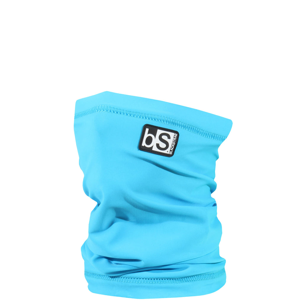 BlackStrap Kids Dual Layer Tube Neck Gaiter Solid Bright Blue USA Made Face Mask