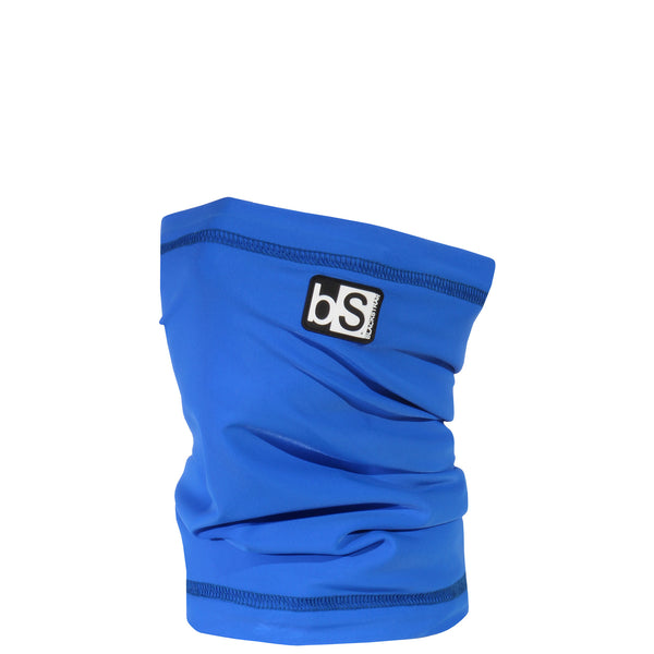 BlackStrap Kids Dual Layer Tube Neck Gaiter Solid Royal Blue USA Made Face Mask