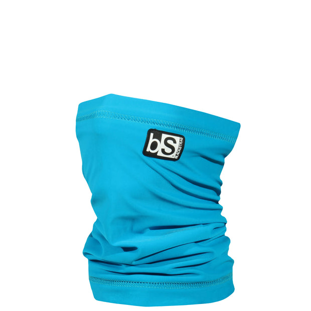 BlackStrap Kids Dual Layer Tube Neck Gaiter Solid Turquoise USA Made Face Mask