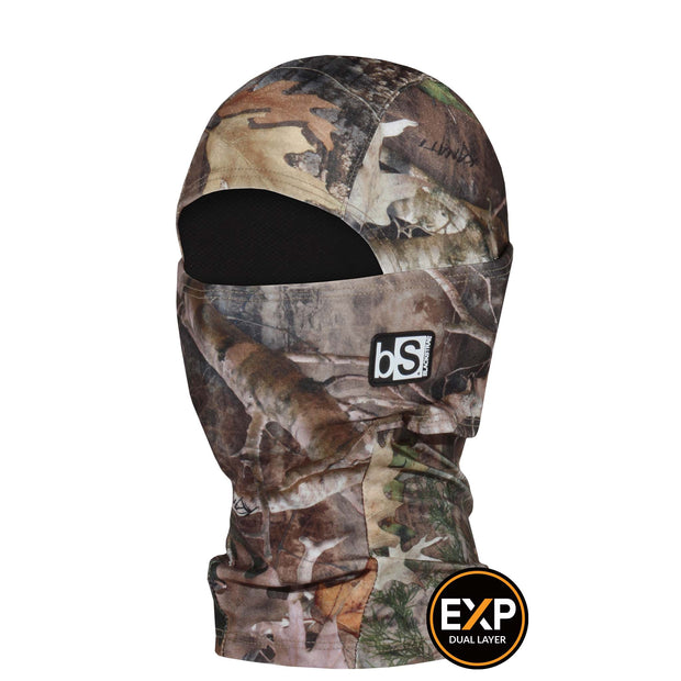 BlackStrap The Kids Expedition Hood Balaclava Camo Northern Fall USA Made Facemask