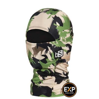BlackStrap The Kids Expedition Hood Balaclava Camo Patty Wilds USA Made Facemask