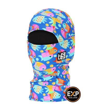 BlackStrap The Kids Expedition Hood Balaclava Fingerlings USA Made Facemask