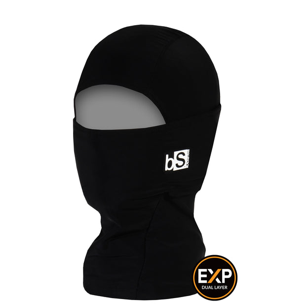BlackStrap The Kids Expedition Hood Balaclava Solid Black USA Made Facemask
