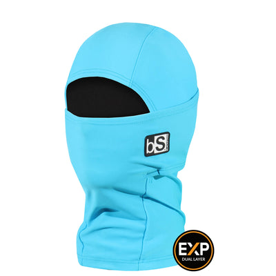 BlackStrap The Kids Expedition Hood Balaclava Solid Bright Blue USA Made Facemask