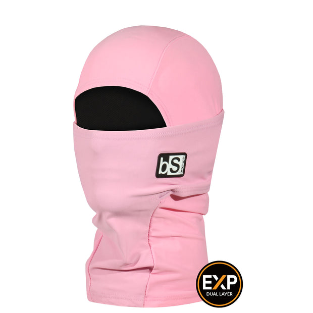BlackStrap The Kids Expedition Hood Balaclava Solid Rose USA Made Facemask