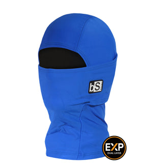 BlackStrap The Kids Expedition Hood Balaclava Solid Royal Blue USA Made Facemask