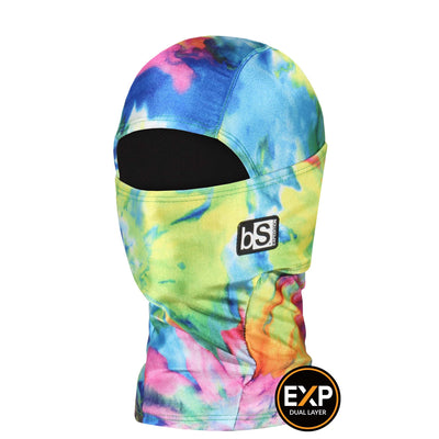 BlackStrap The Kids Expedition Hood Balaclava Tie Dye Retro USA Made Facemask