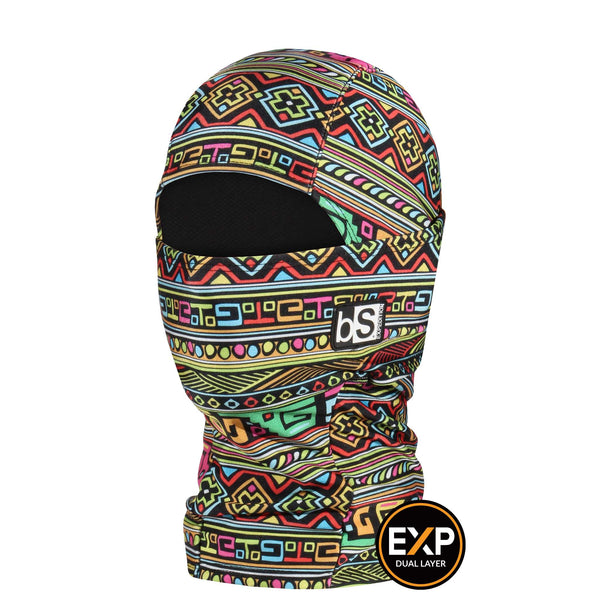 BlackStrap The Kids Expedition Hood Balaclava Tribe Disco USA Made Facemask