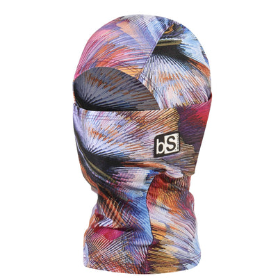 BlackStrap Kids Hood Balaclava Feathers Digital Dark USA Made Face Mask